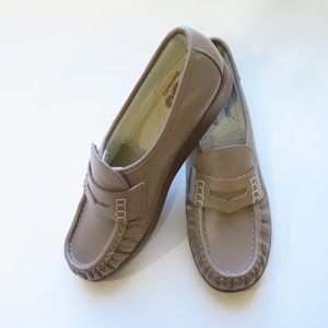 SAS Classic Mocha Penny Loafer Leather
